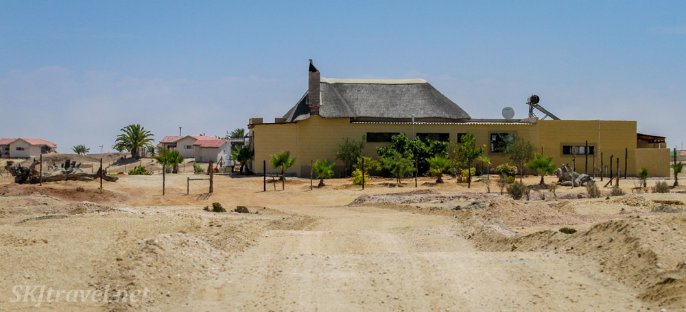 ADN care farm for Alzheimer's patients near Swapkopmund, Namibia.