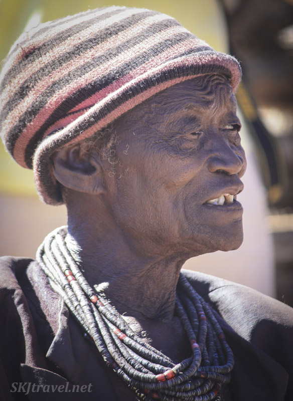 Chief of the local clan in Kaokoland, Namibia, who allowed us into his kraal to photograph.
