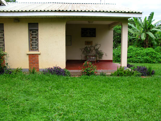 My flat at the UWEC, Entebbe, Uganda.