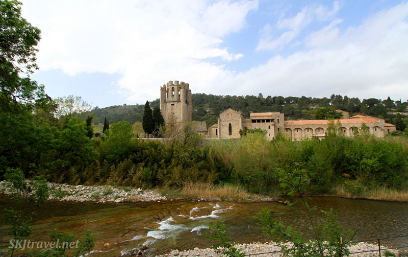 Village of Lagrasse, France.