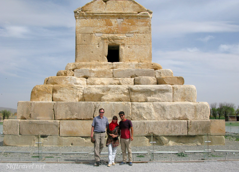 Tomb of Cyrus the Great at Pasargadae. Iran.