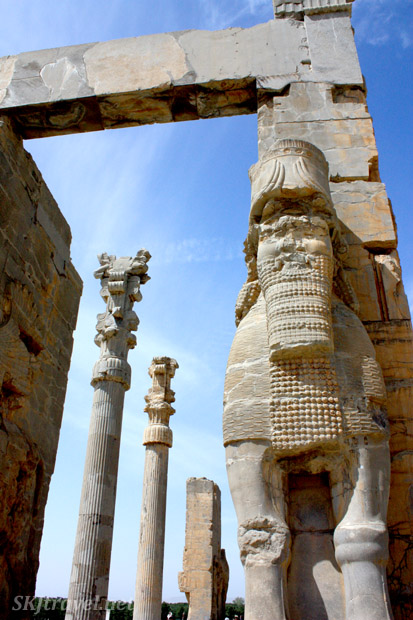 The Gate of All Lands, Persepolis, Iran.