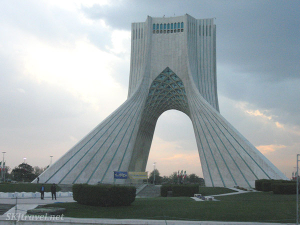 Monument that is the symbol of Tehran.