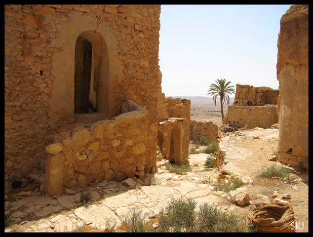 Abandoned Berber village of Douiret, Tunisia.