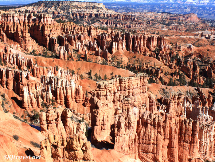 panorama view at bryce canyon