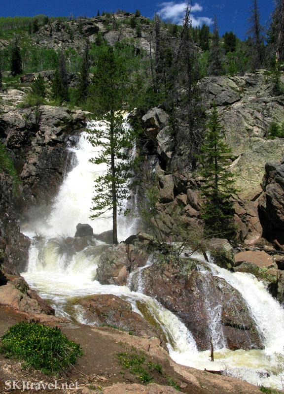 My own backyard glenwood springs steamboat springs co for Fish creek falls