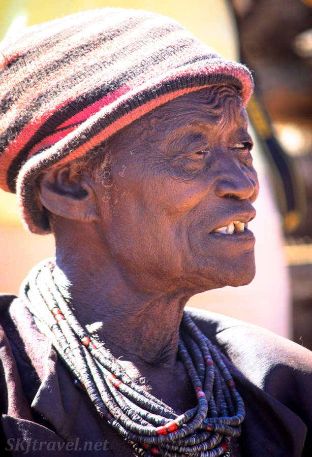 Chief Kapika of the Himba, June 2014.
