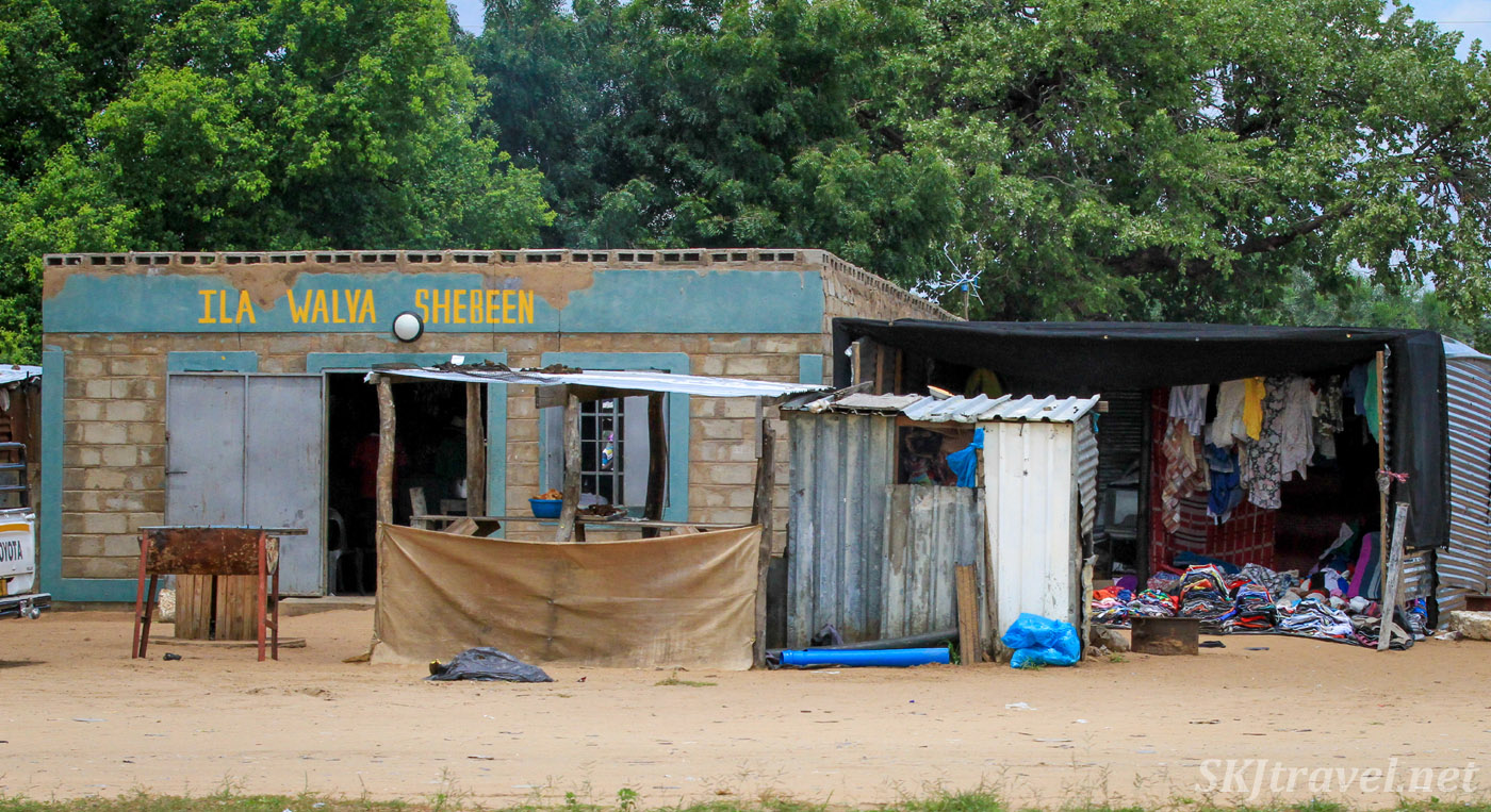 Roadside shebeen, northern Namibia.