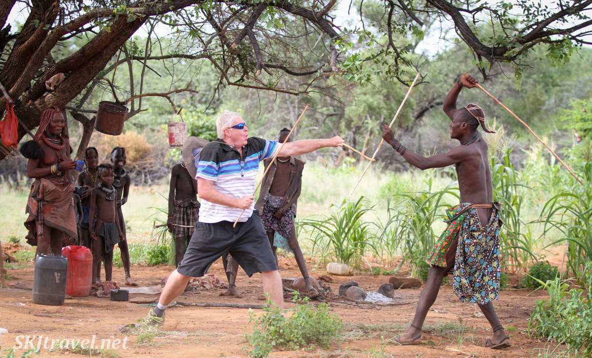 stick fighting, Namibia