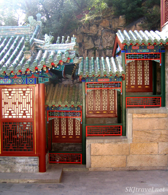 courtyard in summer palace
