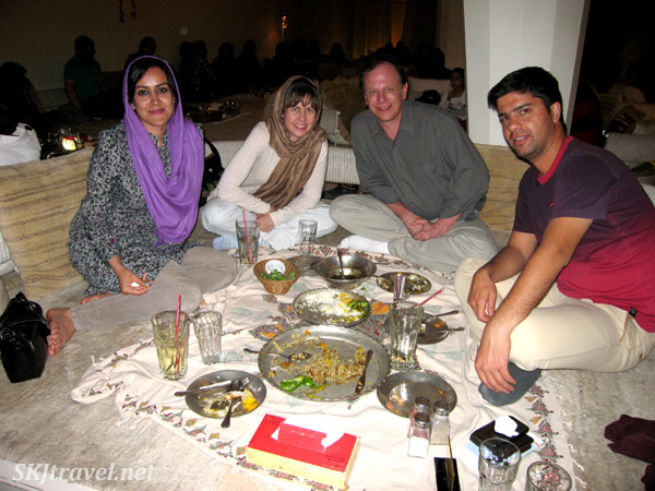 Eating out in Shiraz